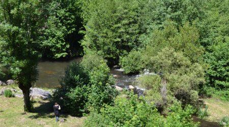 weitläufiger Garten Wassermühle von Record
