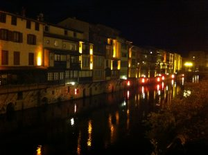 Castres by night2